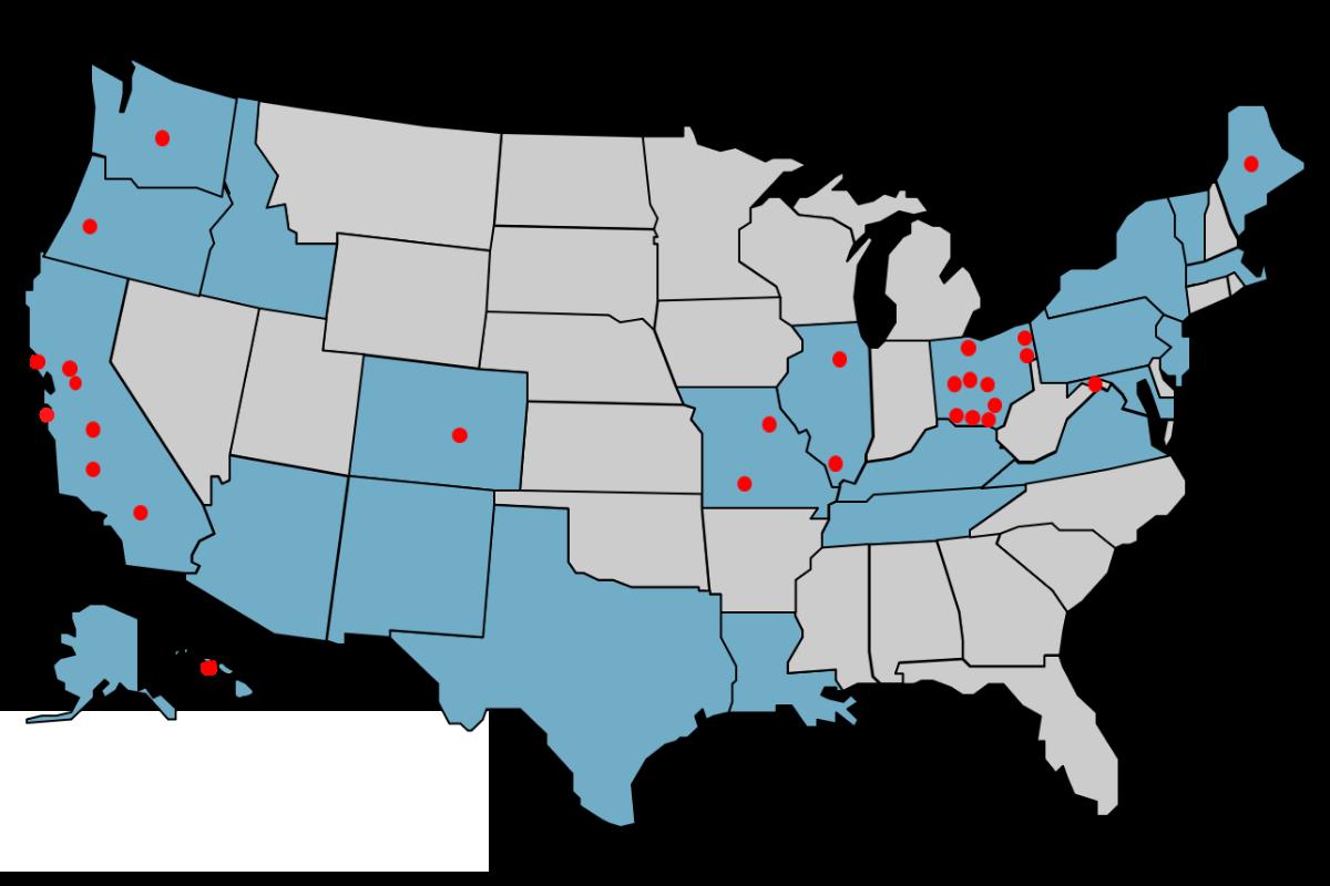 Grant PHC Map 2021